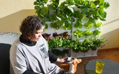 En el jardín con … Joana Lobato